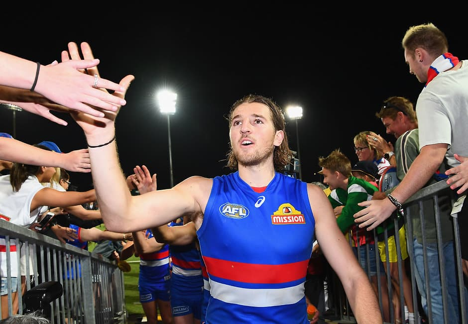 Marcus Bontempelli has won his second best and fairest - AFL,Western Bulldogs,Marcus Bontempelli,Jason Johannisen,Jack Macrae,Caleb Daniel,Lewis Young