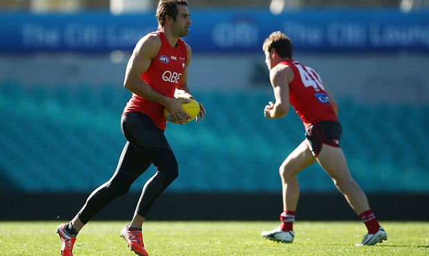 AFL 2017 Training - Sydney Swans 260717