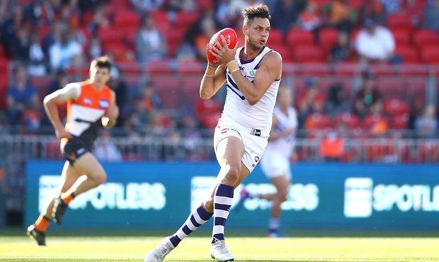 AFL 2017 Round 19 - GWS Giants v Fremantle