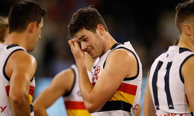 Mitch McGovern kicked a goal after the siren to draw the match for Adelaide