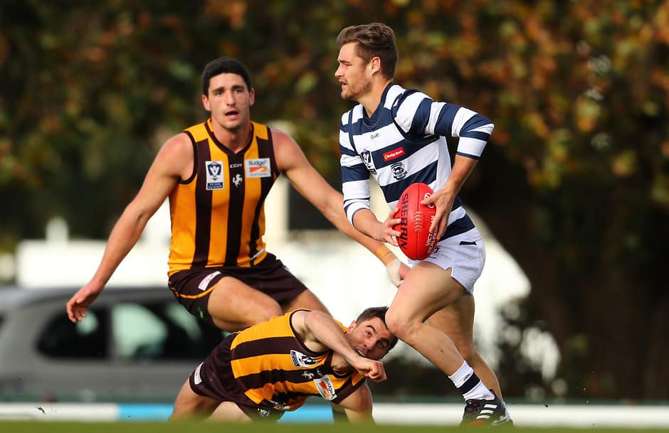 Tom Ruggles was among the Cats' best against Box Hill - AFL,Around the State Leagues