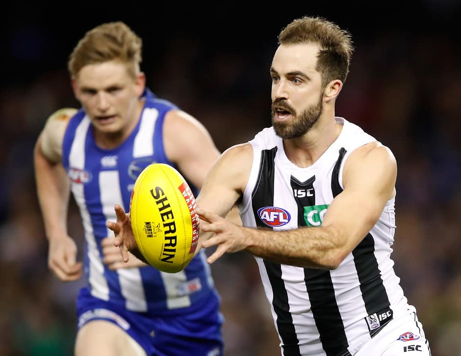 Steele Sidebottom should be a reliable pick again in 2018 - AFL,Fantasy,Collingwood Magpies