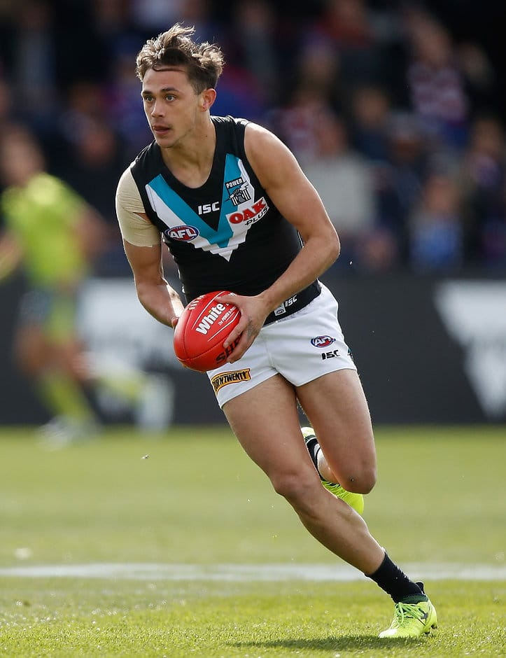 Aidyn Johnson has re-signed until the end of 2019 - AFL,Contracts,Port Adelaide Power,Aidyn Johnson