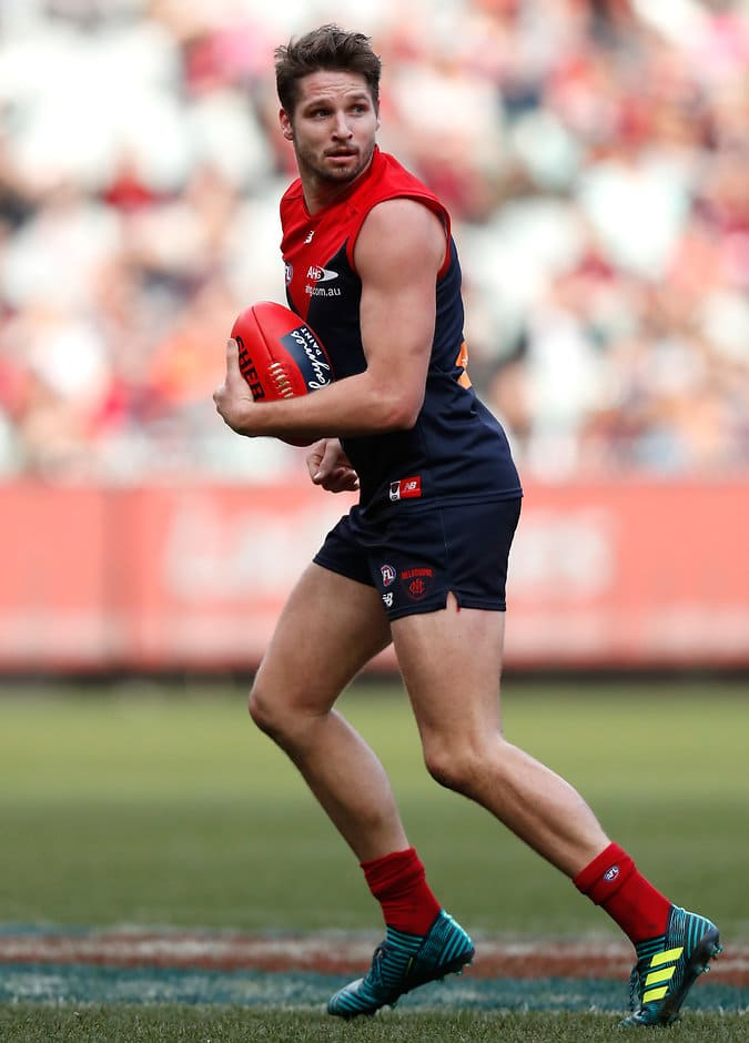 Jesse Hogan and his North counterpart Ben Brown will have a big say in the result - AFL,North Melbourne Kangaroos,Melbourne Demons,MCG