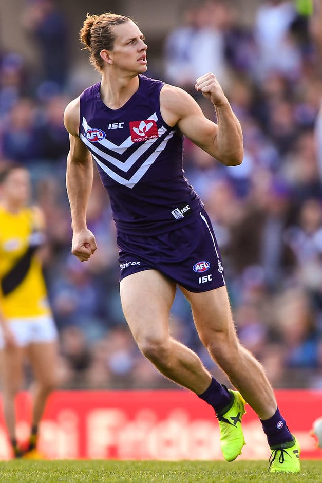 Nat Fyfe enjoyed a strong finish to 2017 and hopes to carry that form into next year - AFL,Nat Fyfe,Fremantle Dockers