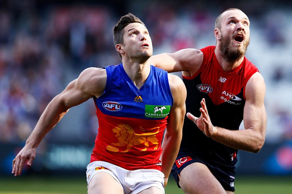 No ruckman spent more time on the ground in any position this year than Lion Stefan Martin - AFL,Majak Daw,Dawson Simpson,Nic Naitanui,Sam Hayes,Callum Coleman-Jones,Tom De Koning,Paddy Ryder,Leigh Brown,Jake Spencer
