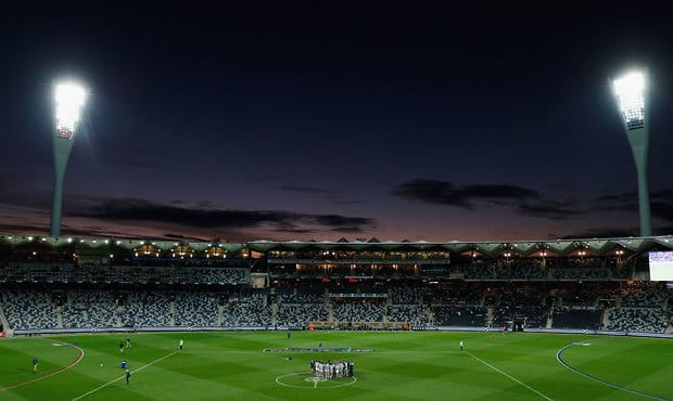 The Cats will play their first game at GMHBA Stadium in 2018 - Geelong Cats