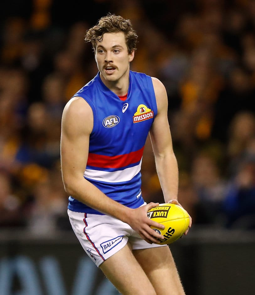 Zaine Cordy will have his work cut out on Tom Lynch - AFL,Western Bulldogs,Gold Coast Suns