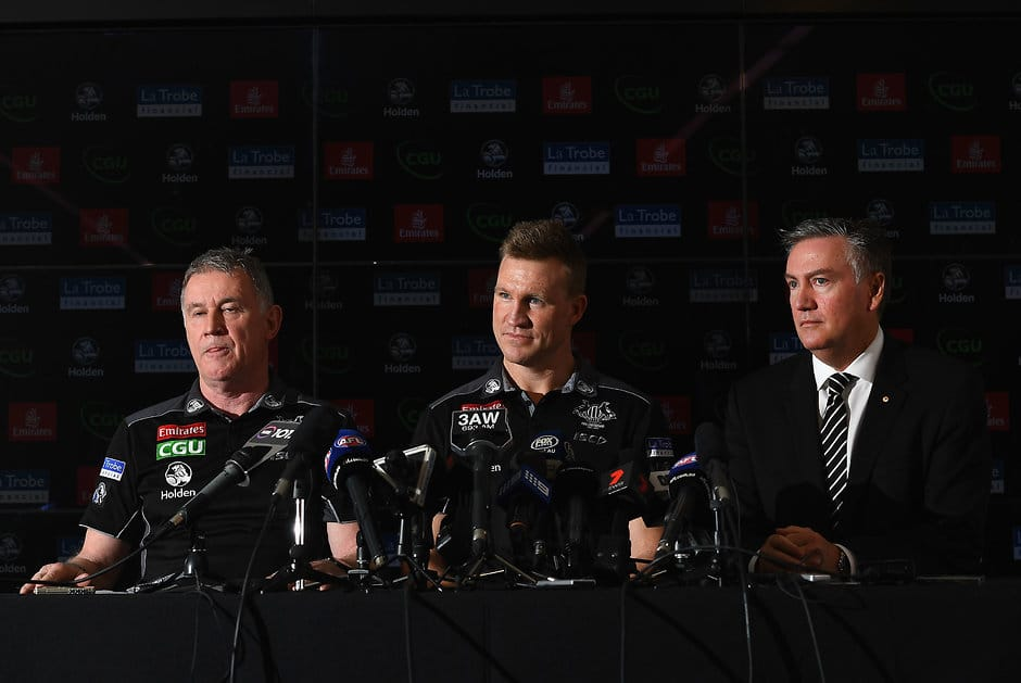 IF anyone knows where the Pies were the past three weeks ... - AFL,Trade,Contracts,Free Agency,Sliding Doors,column