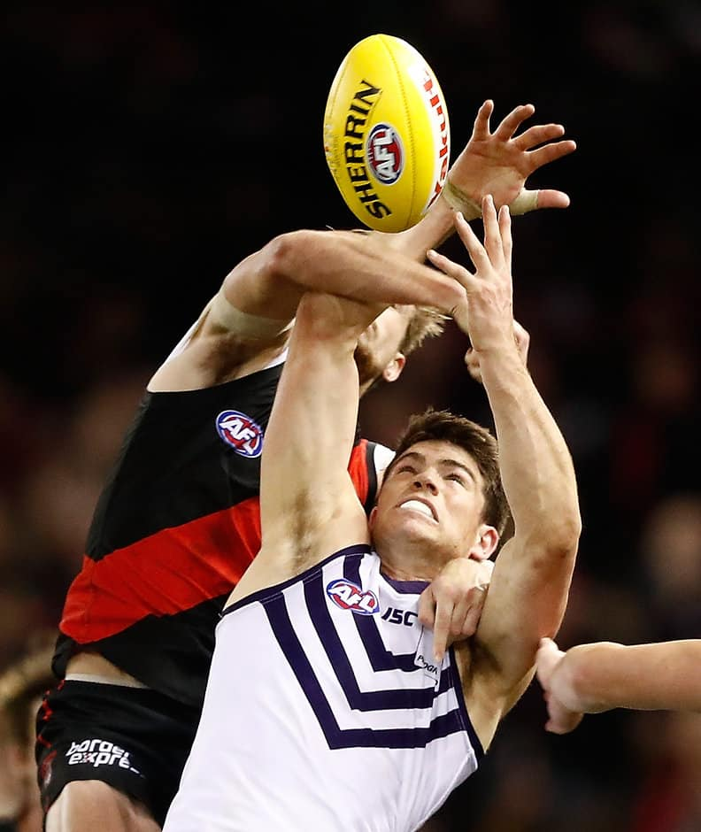 Ex-Docker Sam Collins will train with the Saints in a bid to continue his AFL career - AFL,St Kilda Saints,Delistings,Sam Collins,Tom Lamb,Will Fordham,Fremantle Dockers,North Melbourne Kangaroos,West Coast Eagles