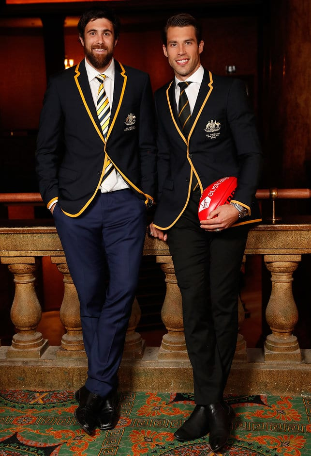 Vice-captain Josh Kennedy and skipper Alex Rance - AFL,All Australian,Alex Rance