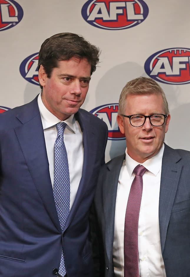 AFL 2017 Media - AFL Announces Steve Hocking as GM of Football Operations