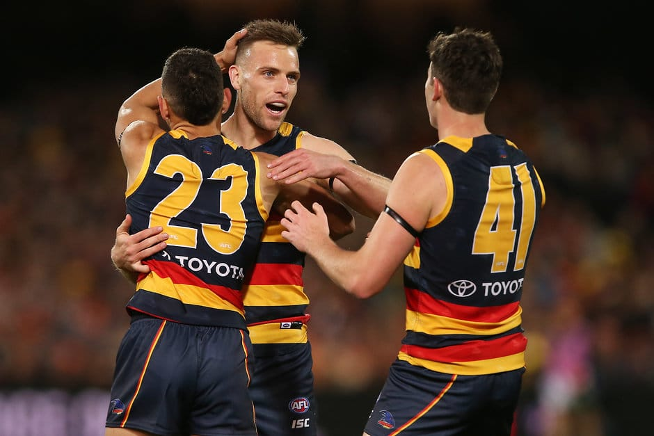 Brodie Smith suffered a season-ending knee injury in Adelaide's Qualifying Final victory over Greater Western Sydney - Adelaide Crows,Brodie Smith