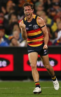 Richard Douglas was outstanding in Thursday night's win over the Giants - Adelaide Crows,Adelaide Oval