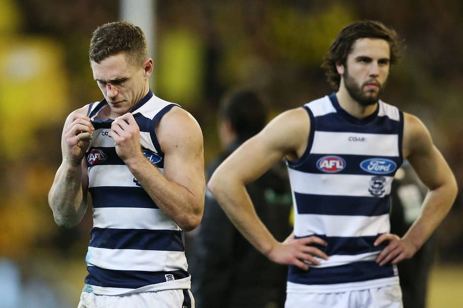 Geelong paid the price for a season of uncertainty in front of the sticks - AFL,Geelong Cats,Stats Files