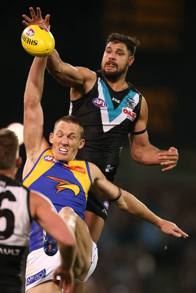 The John Cahill Medal caps off a huge year for Paddy Ryder - AFL,Port Adelaide,Paddy Ryder,Charlie Dixon,Tom Jonas
