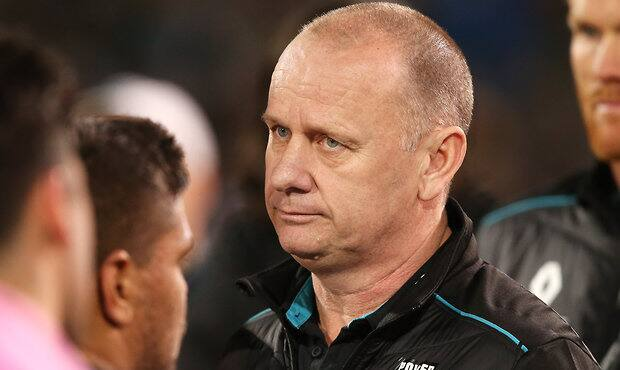 Ken Hinkley re-signs as Port Adelaide coach