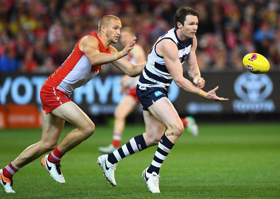 Patrick Dangerfield is in the AFL's elite category - Geelong Cats,AFL