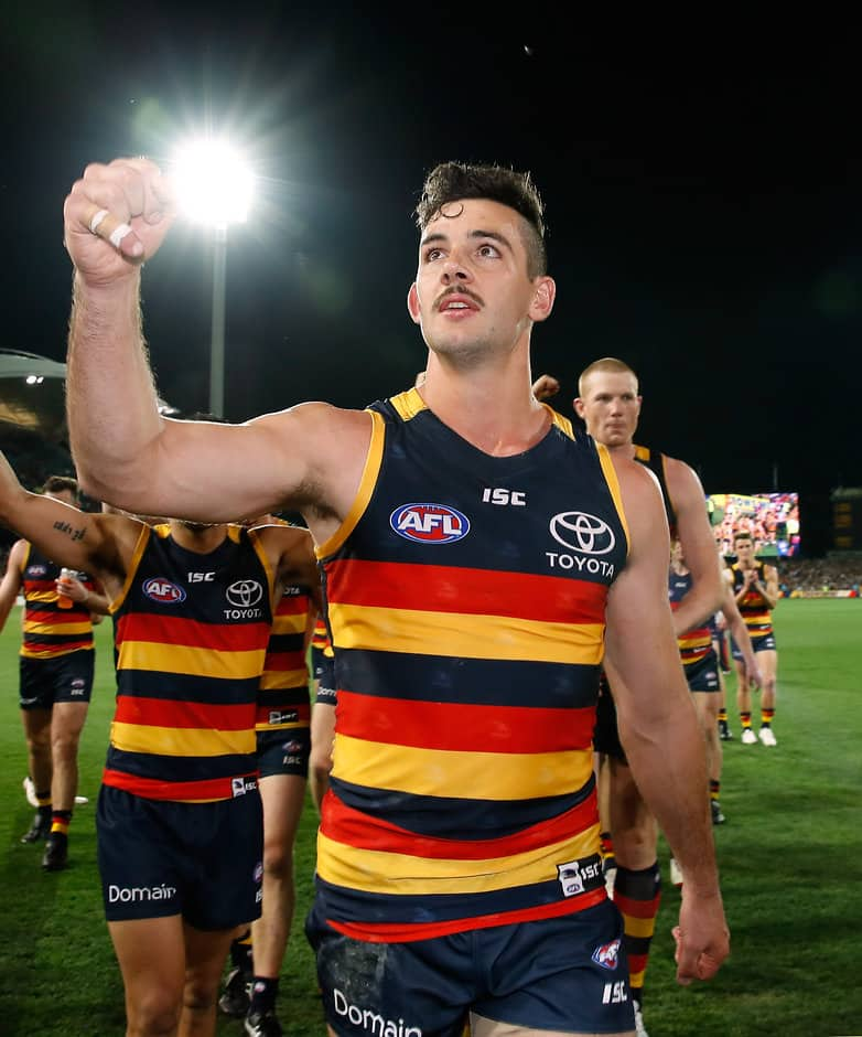 Captain Taylor Walker is one of two new Crows Life Members - Adelaide Crows