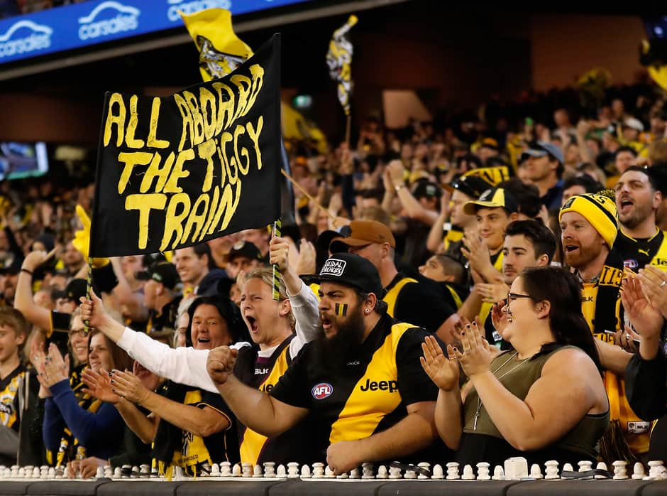 Fans will be encouraged to sit in segregated fan zones for AFLX - AFL,AFLX