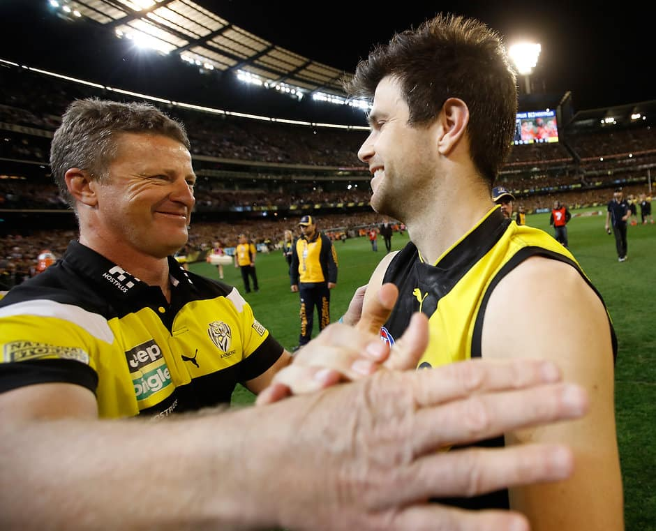 Damien Hardwick has encouraged his players to open up to each other this year - AFL,Damien Hardwick,Richmond Tigers,Bachar Houli