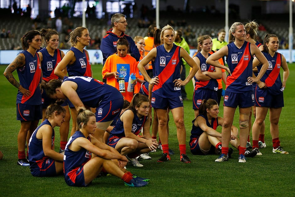 Diamond Creek lost this year's VFLW Grand Final - AFLW