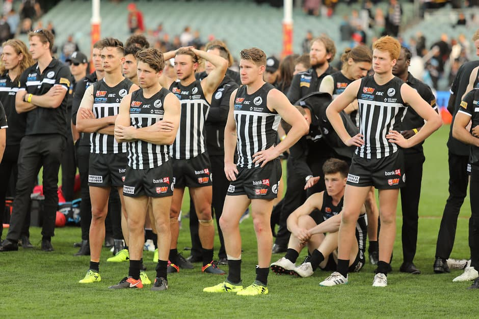 The SANFL fears its clubs, such as Port Adelaide Magpies, could be affected by a potential mid-year AFL draft - AFL,Draft,WAFL,SANFL,Trade,Damien Hardwick