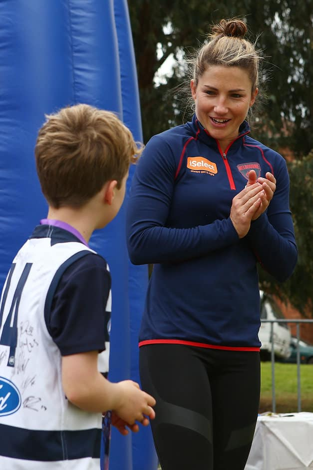 Geelong has interesting family ties for Mel Hickey - AFLW,Geelong Cats,Melbourne Demons