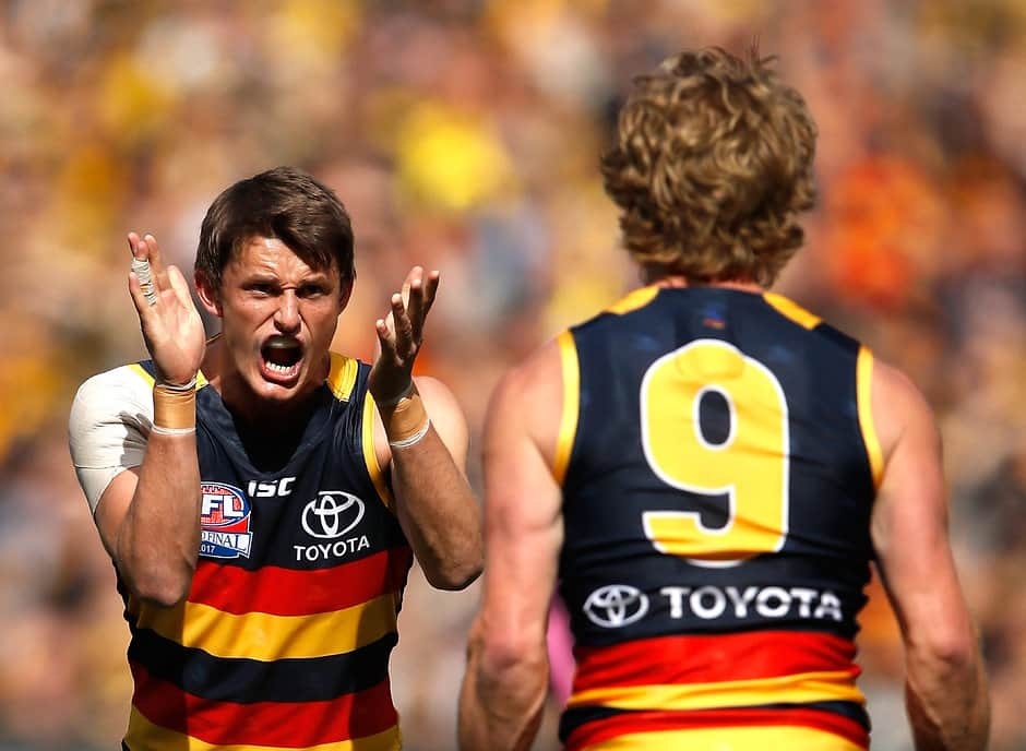 Matt Crouch has urged Crows stars to stick with the club rather than chase contracts elsewhere - AFL,Matt Crouch,Rory Sloane,Rory Laird,Rory Atkins,Tom Lynch,Adelaide Crows,Contracts