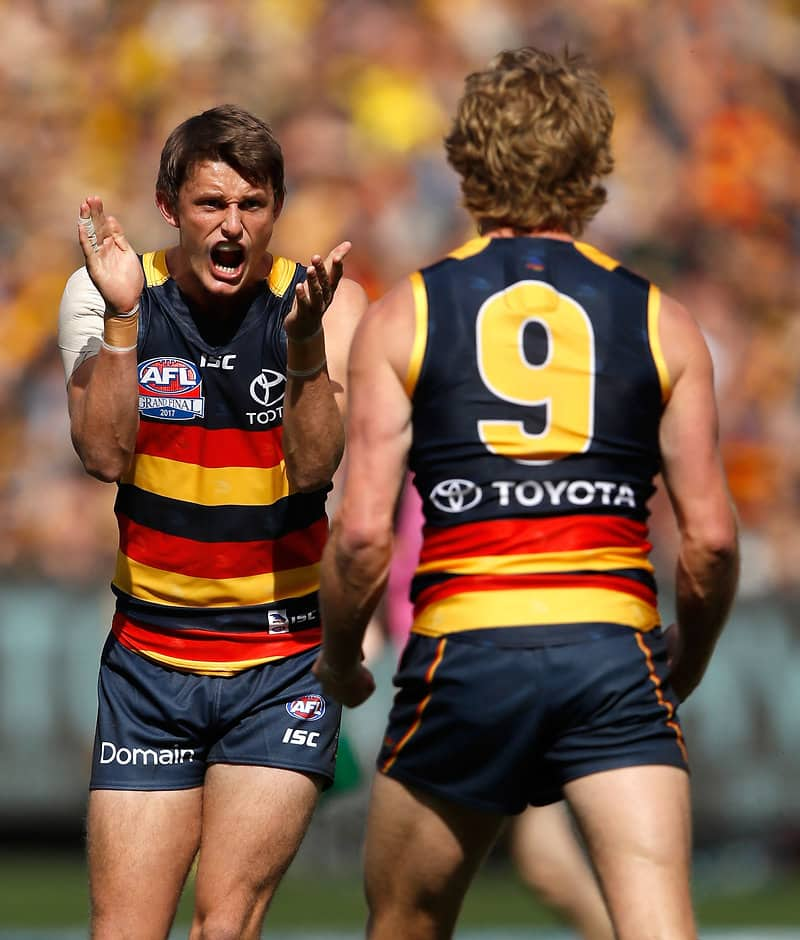Matt Crouch has won his first Adelaide best and fairest award - AFL,Adelaide Crows,Matt Crouch