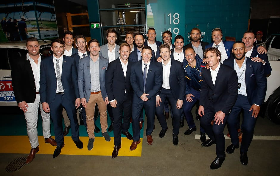 Steve Johnson and Andrew Mackie were amongst the AFL's star studded retiring class of 2017 - Geelong Cats,Andrew Mackie,Steve Johnson