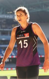 New AFLW Crow Jasmyn Hewett - Adelaide Crows