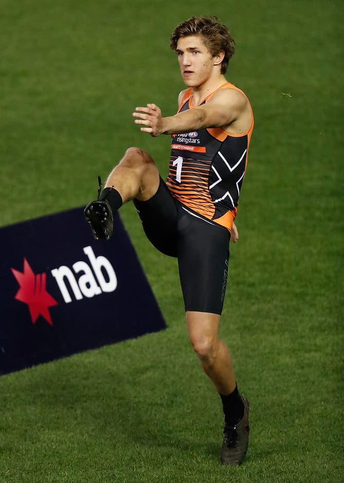 Zac Bailey at the NAB AFL Draft Combine - AFL,Draft,Zac Bailey