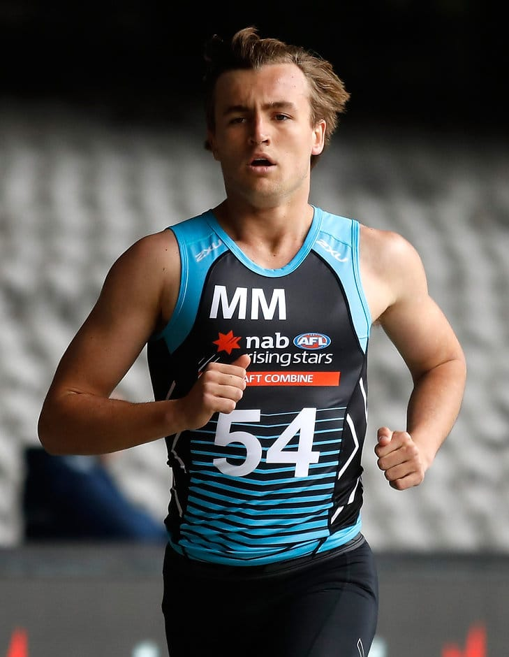 Lochie O'Brien at the NAB AFL Draft Combine - AFL,Draft,Lochie O'Brien