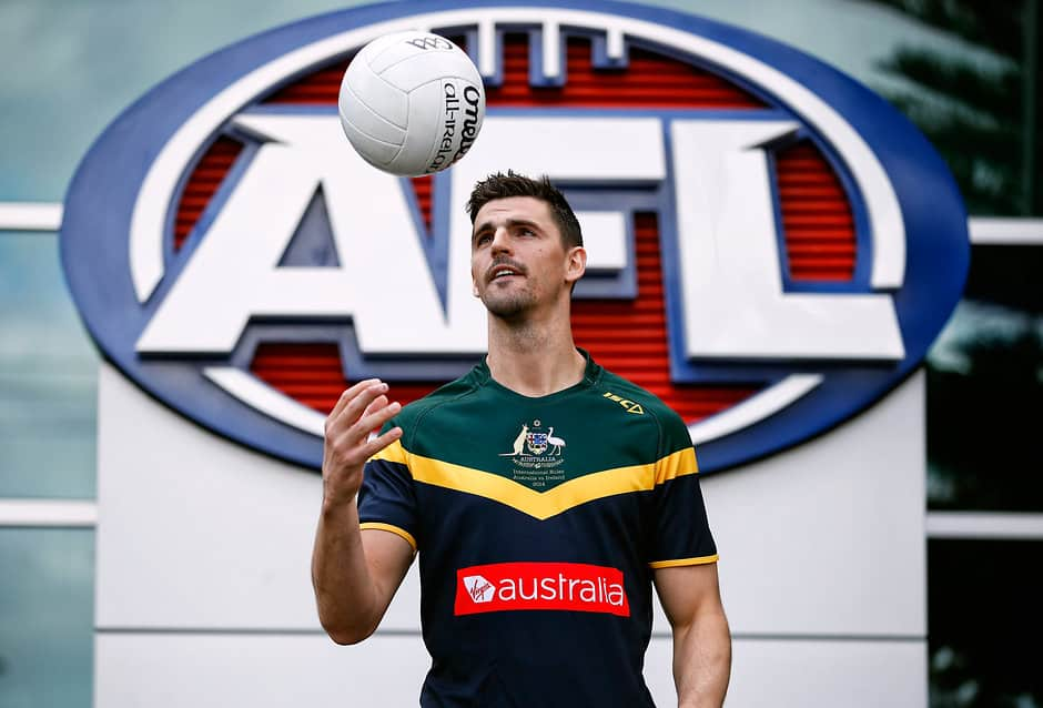 Collingwood skipper Scott Pendlebury will wear his familiar No.10 guernsey in the Test against Ireland - AFL,International Rules,Adelaide Oval,Domain Stadium