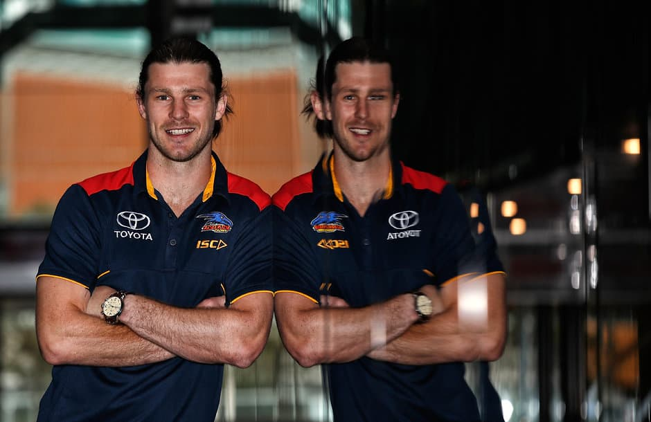 Bryce Gibbs is finally a Crow - AFL,Trade