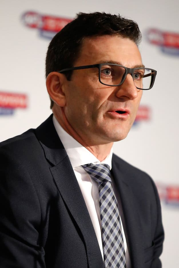 AFL general manager of clubs Travis Auld  - AFL,Fixture