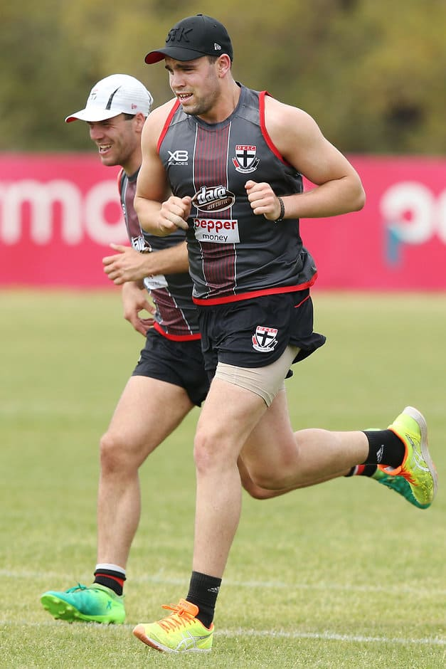 Paddy McCartin has signed a new two-year deal with St Kilda - AFL,St Kilda Saints,Paddy McCartin