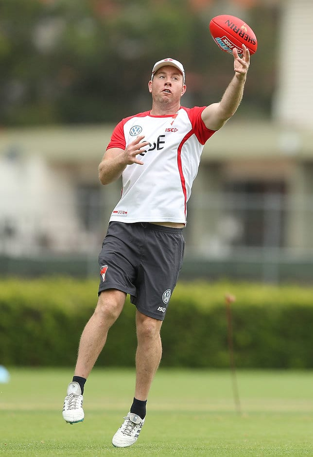 Steve Johnson has transitioned straight into an assistant coaching role at Sydney - AFL,Dane Swan,Travis Cloke,Michael Talia,Craig Bird,Brandon Jack,Taylor Hunt,Ben Kennedy,Billie Smedts,Tom Ruggles,Sharrod Wellingham,Ben Howlett,Heath Hocking,Henry Schade,Daniel Gorringe,Jake Spencer,Jamie Bennell,Jarrad Grant,Arryn Siposs,Ben Lennon,Jesse White,Dennis Armfield,Steve Johnson,James Kelly,Ivan Maric,Andrew Mackie,Shane Mumford,Sam Mitchell,Drew Petrie,Scott Thompson,Brent Stanton,Jason Davenport,Tendai Mzungu,Matthew Boyd,Jeremy Laidler,Sean Dempster,Colin Garland,Adam Schneider,Nick Riewoldt,Leigh Montagna