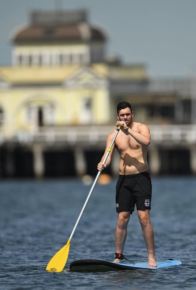 Paddy McCartin will be on restricted duties for about a month - AFL,St Kilda Saints,Paddy McCartin,Injuries