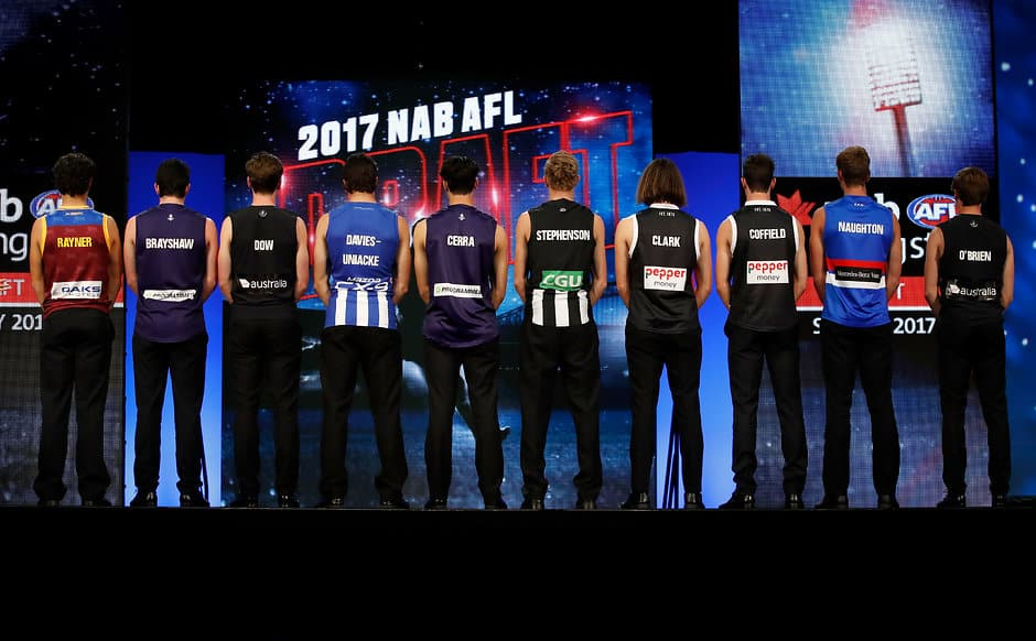 How will the final top 10 look in the 2018 draft? - AFL,Trade,Draft