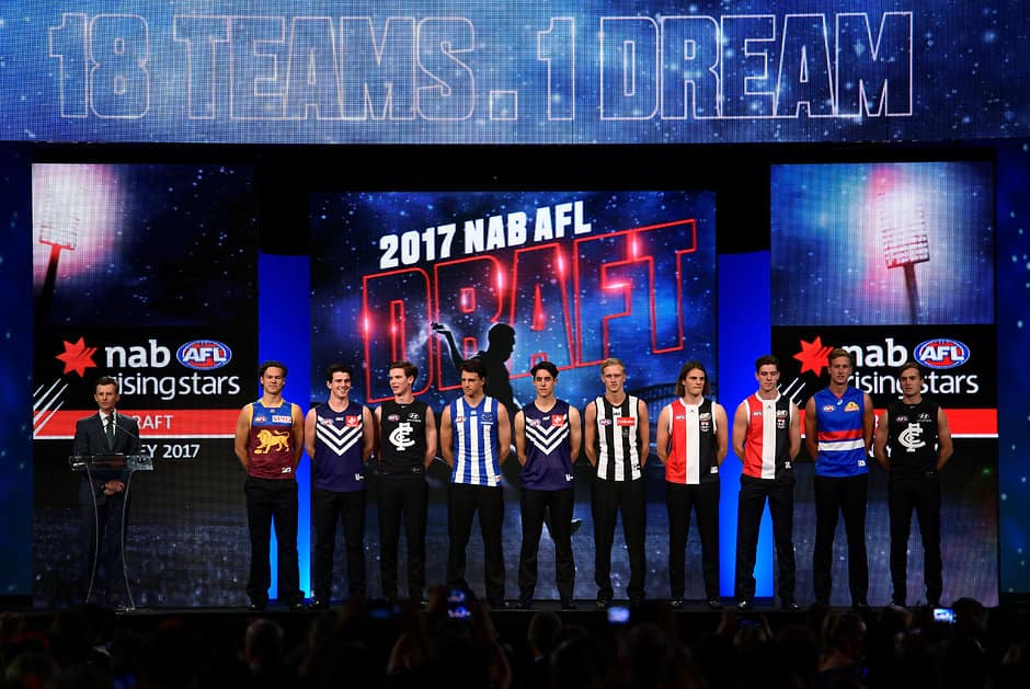 The top 10 from the 2017 NAB AFL Draft - AFL,Trade,Contracts,Free Agency,Draft