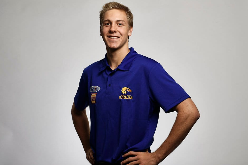 Oscar Allen feared he had missed his chance of staying home in Perth - AFL,Draft,West Coast Eagles,Oscar Allen