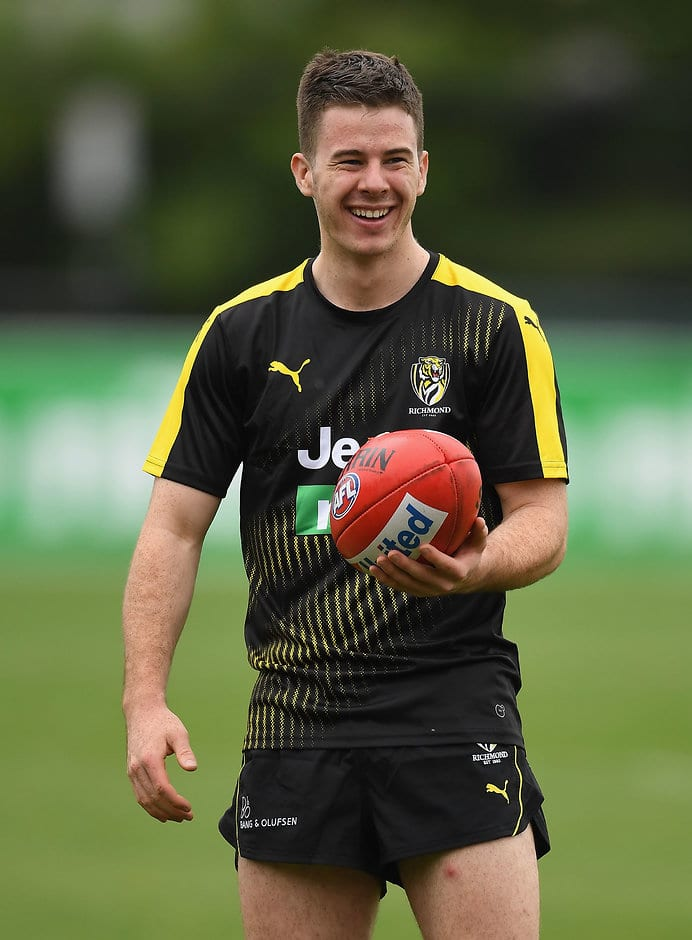 Jack Higgins comes to Richmond from East Malvern, the same junior club as Tommy Hafey.  - Jack Higgins