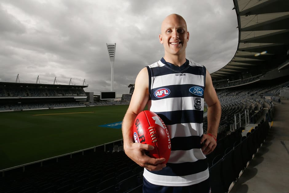 Gary Ablett's new number has been revealed - AFL,Geelong Cats,Gary Ablett,Stewart Crameri,Jake Kelly,Charlie Constable,Lachlan Fogarty,Gryan Miers