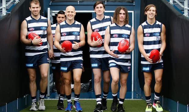 AFL 2017 Media - Geelong Cats Media Session