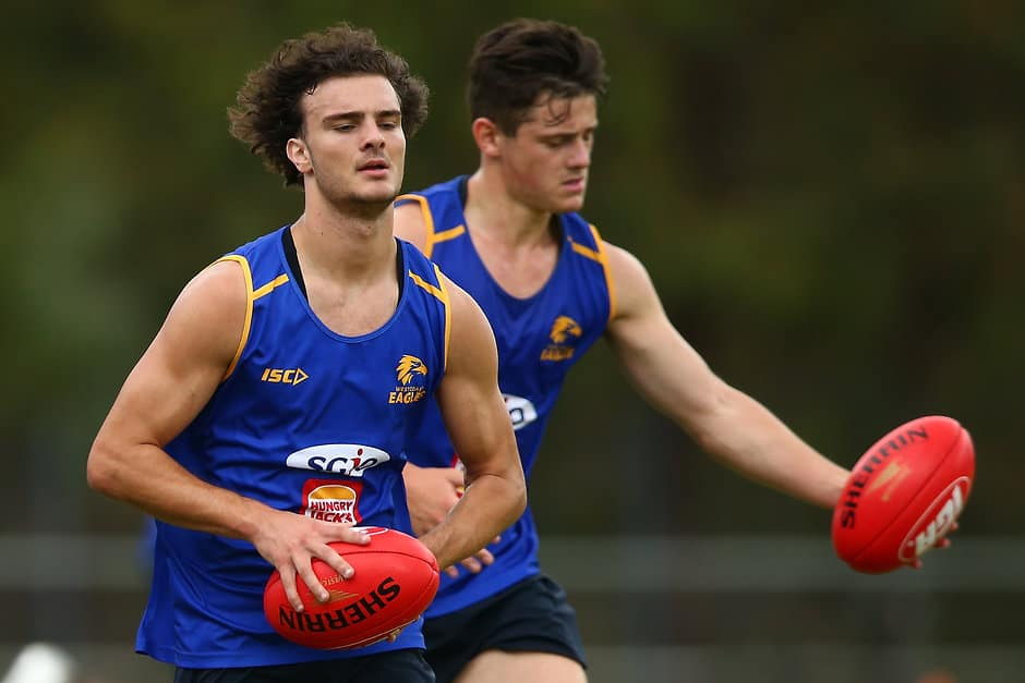 Eagles draftee Jack Petruccelle is a line-breaking, high-leaping runner - AFL,West Coast Eagles,Jack Petruccelle