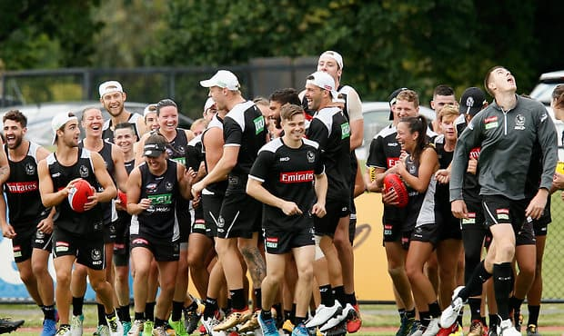 AFL 2017 Training - Collingwood 061217