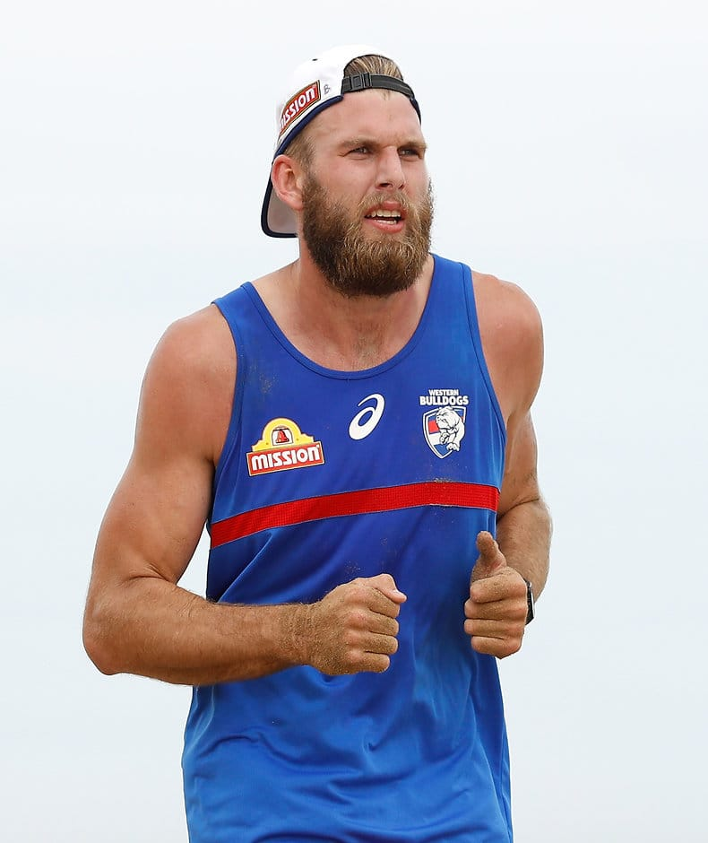 Jackson Trengove has settled into his new environment at VU Whitten Oval. (Photo: AFL Media) - Western Bulldogs,Jackson Trengove