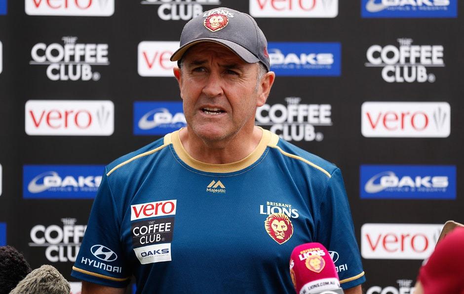 Chris Fagan speaks to the media in Launceston - AFL,Injuries,Claye Beams,Brisbane Lions,Chris Fagan
